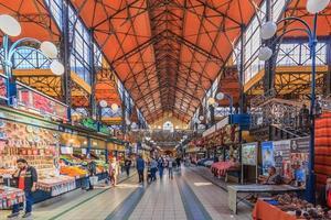 centrale markthal in Boedapest, Hongarije, 2016