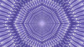 kleurrijke 3d illustratie caleidoscoop ontwerp voor achtergrond of behang foto