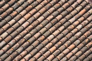 achtergrond van een traditioneel dak