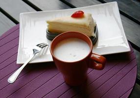 cake en koffie