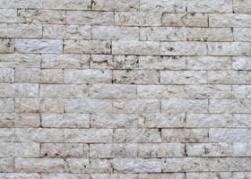 bakstenen muur achtergrondstructuur foto