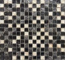 zwart en wit marmeren tegels foto