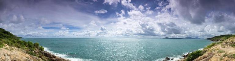 uitzicht vanaf het eiland foto