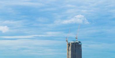 hoogbouw in aanbouw in bangkok