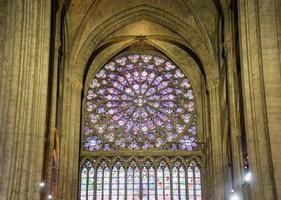 kathedraal van notre dame de paris, frankrijk foto