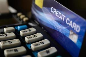 creditcard machine foto