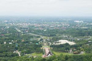 luchtfoto van Chiang Mai