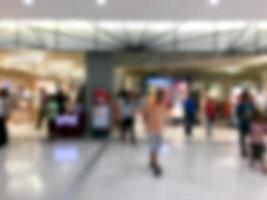 abstract winkelcentrum achtergrond wazig