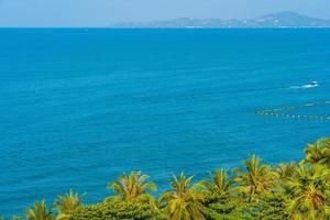 prachtige tropische oceaan foto