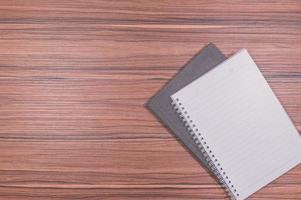 notebook op het bureau