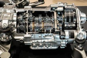 weergave van een motor