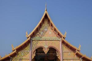 Chiang Mai, Thailand, 2020 - buitenkant van de wat phra singh-tempel