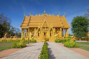 chachoengsao, thailand, 2020 - de wat paknam jolo-tempel