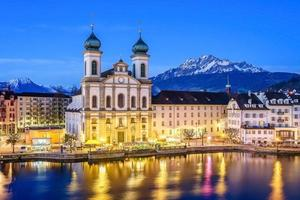 jezuïetenkerk in Luzern, Zwitserland