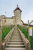 stenen fort van munot in schaffhausen, zwitserland