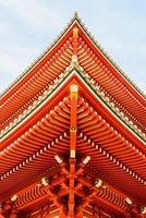 sensoji-tempel in tokyo, japan