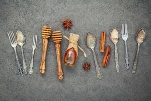 honing en keukengerei foto