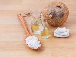 natuurlijke spa-ingrediënten foto