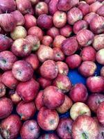 biologische rode appels