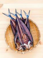 geconserveerde gezouten vis foto