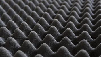 close-up van grijs geluiddicht schuim foto