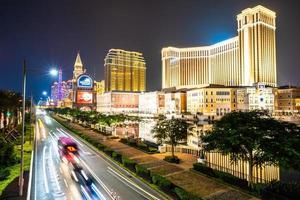 gebouwen van de stad Macau