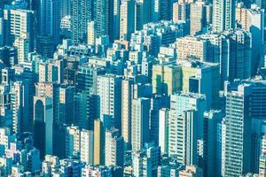 woonwijk van hong kong foto
