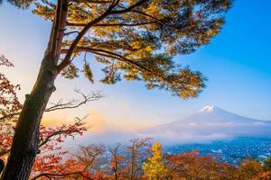 prachtig landschap van mt. fuji, japan foto