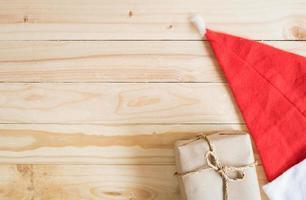 Kerst achtergrond met geschenken foto