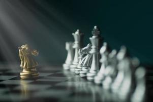 schaakspelstukken foto