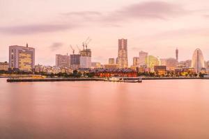 prachtige gebouwen in de stad Yokohama