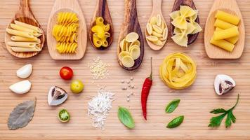 Italiaanse keuken concept foto