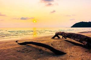 zonsondergang over de zee