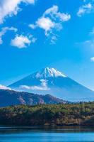 landschap rond mt. fuji in japan in de herfst