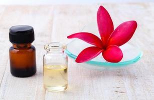 etherische olie aroma foto