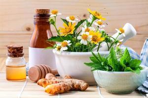 kruiden voor aromatherapie foto