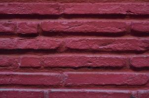 rode bakstenen muur achtergrond en textuur foto