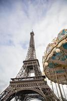detail uit de vintage carrousel foto