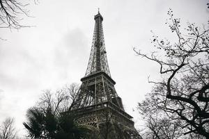 Eiffeltoren in Parijs, Frankrijk foto