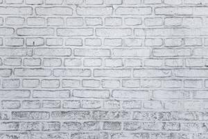 oude bakstenen stenen muur foto