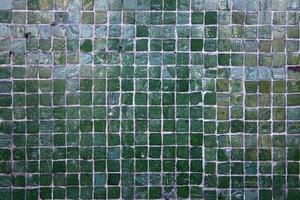 vintage vierkante stenen mozaïek foto