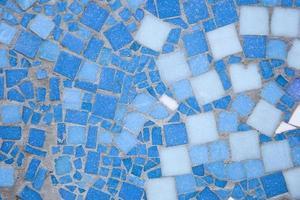 detail van de mozaïekachtergrond foto