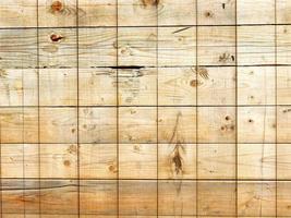 paneel van houten latten voor achtergrond of textuur foto