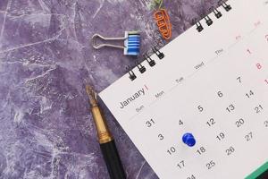 januari kalendermaand foto