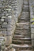 oude stenen trap foto