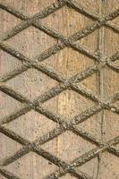 vintage stenen muur met diagonale lijnen foto
