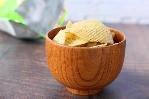 kom met chips