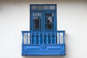 traditioneel raam uit cusco, peru