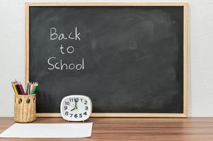 terug naar school en onderwijsconcept om te leren vaardigheden te verbeteren