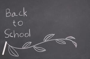 terug naar school en onderwijsconcept